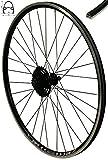 Redondo 28 Zoll Hinterrad Laufrad Felge Schwarz + 9 Fach Shimano Kassette