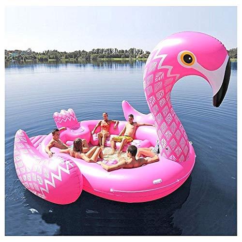 Festa sull'isola delle creature galleggianti - fenicottero (Party Bird Island - Flamingo)