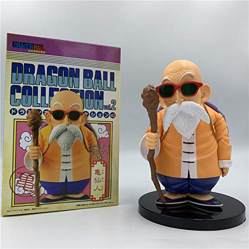 Dragon Ball Z Master Roshi Kame Sennin Zonnebril Standing Ver. PVC Action Figure DBZ Goku Teacher Collection Vol .2 Model 14cm
