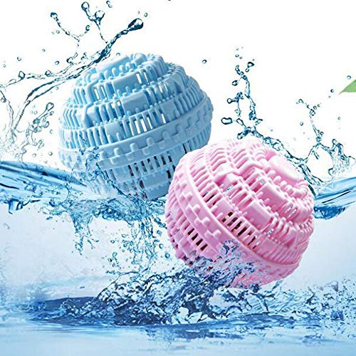Bola de lavado aniónica, bola de lavado mágica reutilizable, sustituto de detergente para el lavado natural ecológico, ahorro de energía sin fusión y fácil de usar (2)