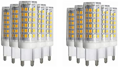 Led Bulbs, 10X G9 LED Bulb, 7W(50W Halogen Bulb Equivalent), 450LM, Dimmable, 360 Degrees Beam Angle, 3000K/6000K, Energy ...