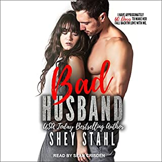 Bad Husband audiobook cover art