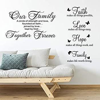quotes wall decor stickers