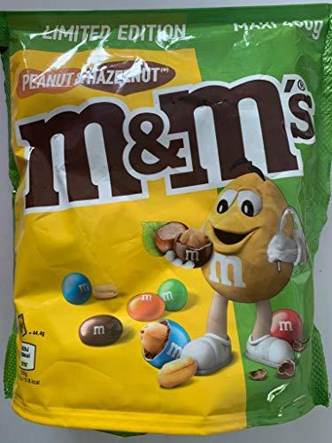 M&Ms Peanut & Hazelnut Limited Edition - Cacahuete y avellana es delicioso chocolate en paquete de 400 g + süssen Testpack