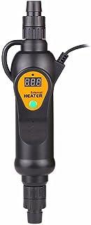 Calentador Externo del Tanque de Peces del Acuario del Calentador Externo de la Temperatura Filtro del Bote del Tanque de Peces del Calentador Externo de Temperatura Ajustable en línea 300 w