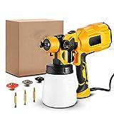 Z&LEI Pintura eléctrica atomizador Manual Profesional Spray Dispositivo Inicio Pintura Herramienta