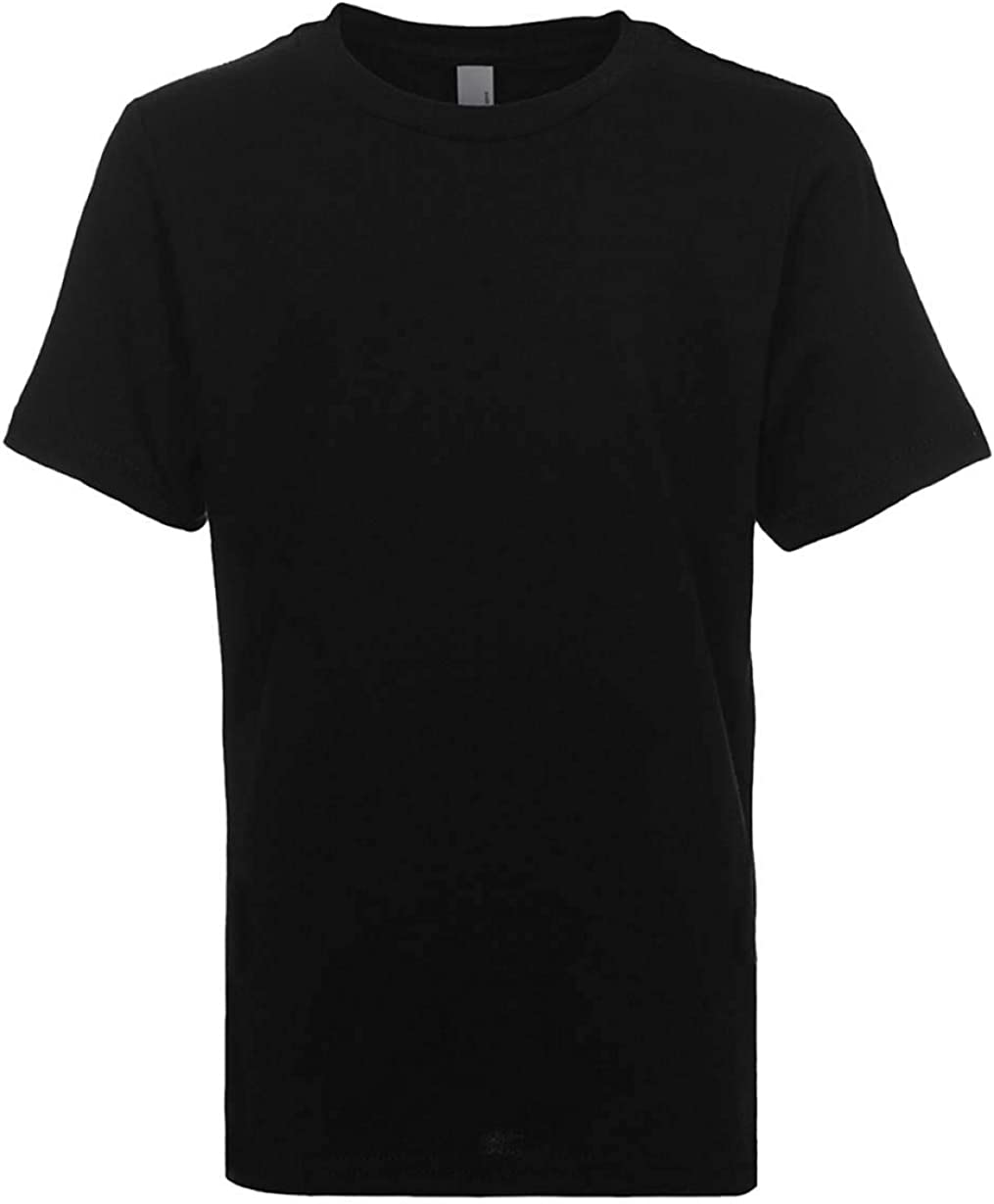Next Level Kids Crew Neck T-Shirt Black S