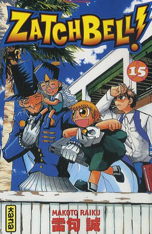Zatchbell !, Tome 15 :