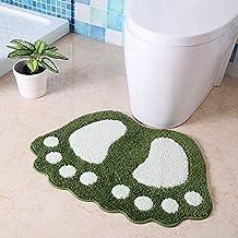 SNY Big Feet Bath Toilet Mat Area Rugs Carpet Doormat Floor Mat Absorbent Mats Bathroom Rugs Bedroom Living Room Kitchen F...