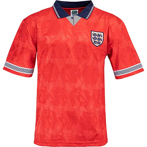Score Draw Camiseta del Mundial de Inglaterra 1990 rojo XXL