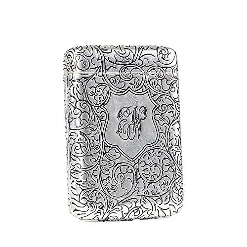 Zigarettenkoffer für Frauen für Männer/Metall, Kupfer Material, Golden Color, Exquisite Workmanship Bringen Sie Geschenke, Geburtstagsgeschenke, Silber