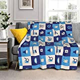 Hello Gorgeous Sherpa Throw Blankets, Dentist Teeth Super Soft Cozy Bed Blankets Twin Sized Throw Blanket for Adults Kids Lightweight Fluffy Fuzzy Blankets for Home Office Outdoors All Seasons