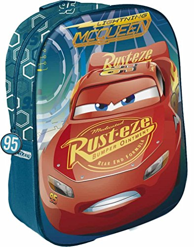Star Licensing Disney Cars Zainetto per Bambini, 31 cm, Multicolore