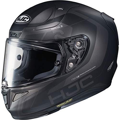 HJC RPHA 11 Pro Helmet - Chakri (X-Large) (Black/Grey)