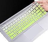 CASEBUY Tastatur-Cover kompatibel HP Pavilion x360 14M-BA 14M-CD 14-BF 14-BW 14-M-BA011DX 14M-BA013DX 14M-BA114DX 14-BW065NR 14M-CD0001DX 14M-CD0003DX 35,6 cm (14 Zoll) Schutzhülle Ombre Green