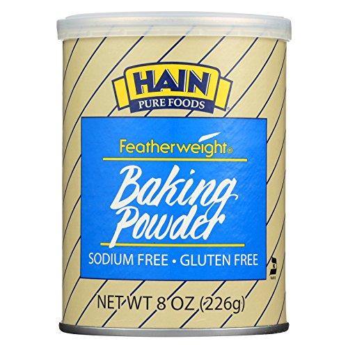 Hain Pure Foods Baking Powder Low Salt ( 12x8 OZ)