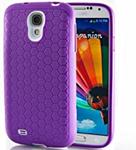 Hyperion Samsung Galaxy S4 Extended Battery Honeycomb Matte TPU Case/CoverHyperion Retail Packaging (Purple)