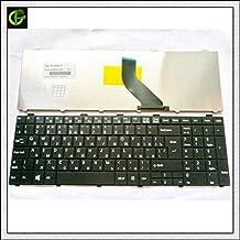 ICYSTO Russian Keyboard for Fujitsu Lifebook A530 A531 AH530 AH531 AH502 NH751 RU Black
