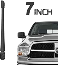 Rydonair Antenna Compatible with 2012-2019 Dodge Ram 1500 | 7 inches Rubber Antenna Replacement | Designed for Optimized FM/AM Reception