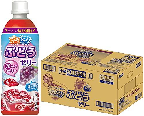スマートマットライト ダイドー ぷるシャリ ぶどうゼリー490 490ml ×24本