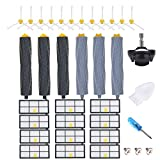 JoyBros 31-Pack Replacement Parts Compatible for iRobot Roomba Accessories 980 981 860 870...