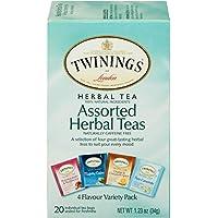 6-Pack Twinings of London Assorted Herbal Tea Bags