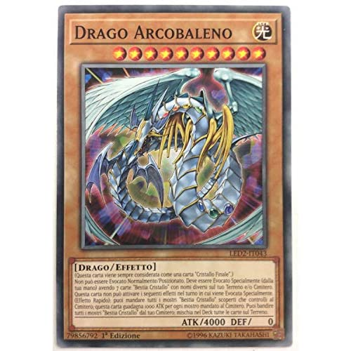 Yu-Gi-Oh! - RYMP-IT047 - Drago Arcobaleno - Mega Pack RA Giallo - 1st Edition - Comune