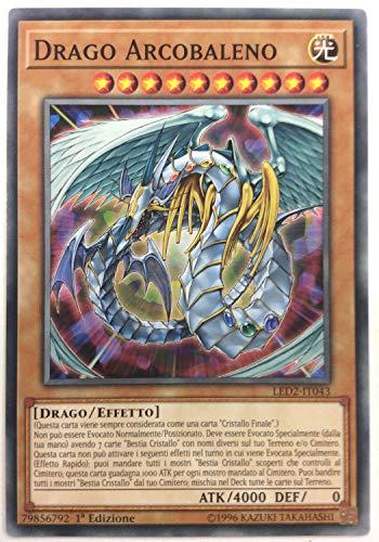 Yu-Gi-Oh! - RYMP-IT047 - Drago Arcobaleno - Mega Pack RA Giallo - 1st Edition - Comune
