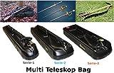 Multi Teleskop Koffer Gewehrtasche Trolley Waffenkoffer Waffentasche Sport Gewehr Bogen Set Jagdwaffen -