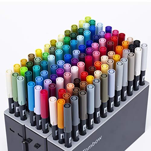 トンボ鉛筆 筆ペン デュアルブラッシュペン ABT 全108色セット
