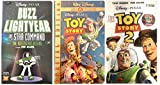Buzz Lightyear of Star Command + Toy Story + Toy Story 2 VHS