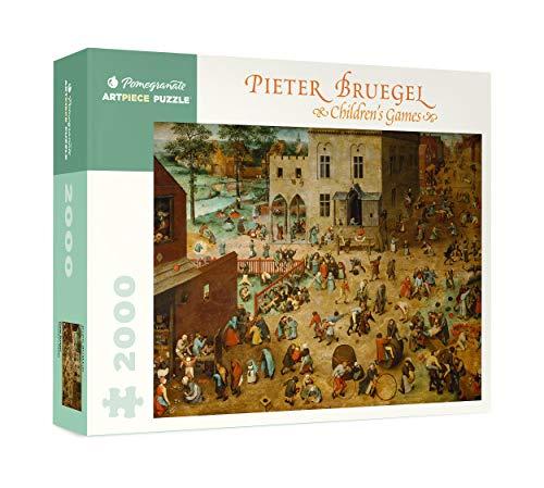 Pieter Bruegel: Children's Games 2000-Piece Jigsaw Puzzle (Pomegranate)