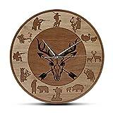 gongyu Reloj de Pared Moderno con símbolo de Yin Yang, Amuleto taoísta de filosofía, Arte de Pared, espiritualidad, decoración del hogar, Reloj de Pared con Movimiento silencioso