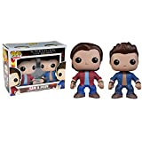 Supernatural Pack de 2 POP! Vinyl Figuras Sam & Dean 10 cm...
