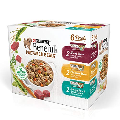 Purina Beneful Gravy Wet Dog Food Variety Pack, Prepared Meals Stew -...