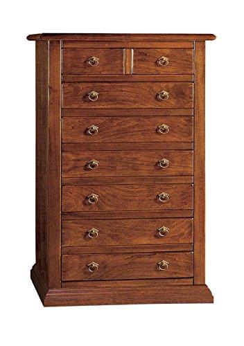 Commode hebdomadaire à 8 tiroirs en bois Arte Povera