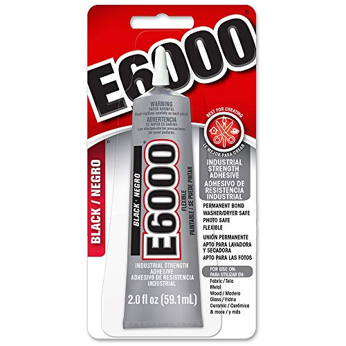 E6000 237039 Multipurpose Adhesive, Black, 2 oz