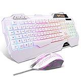 havit Tastiera e Mouse da Gioco Filo Gaming Tastiera e Mouse Impostati con Luce...