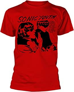 Sonic Youth 'Goo Album Cover' (Red) T-Shirt