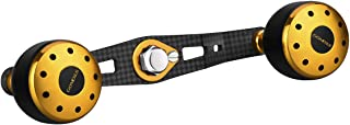 ゴメクサス (Gomexus) 105mm クランク パワー ハンドル シマノ (Shimano) ダイワ (Daiwa) アブガルシア (Abu Garcia) ベイトリール用 18 アンタレスDC MD 紅牙 X IC など用 カーボン 製