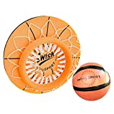 Ablerfly Techo Deportes Interior Mini Caja de Baloncesto Infantil Juego de Juguete de Baloncesto Net Backboard (1 Mini Balon