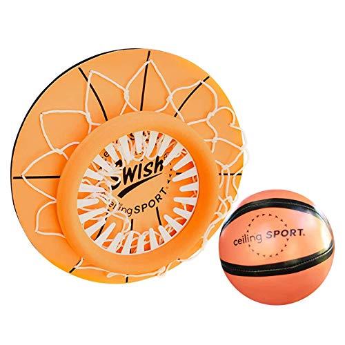 Juguete de aros de baloncesto con mini juguete interior para niños