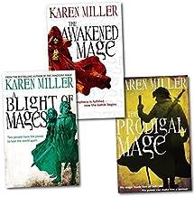 Kingmaker Kingbreaker 3 Book Collection - Prodigal Mage, Blight of Mages, Awakened Mage - Karen Miller