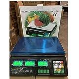 CHICTI Báscula Digital Cocina 30 Kg, LCD Digital Escala Cocina Computación Electrónica del Precio...