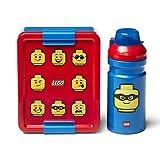 LEGO Set da Pranzo Iconic, Rosso, Taglia Unica