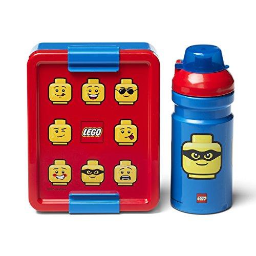Room Copenhagen Lego Mittagspausen-Set Iconic, red, one Size