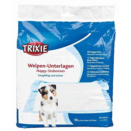 Trixie Nappy Cucciolo Pad, 60 × 60 cm, Confezione da 10