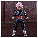 LIQIN Figura de acción de Anime Dragon Ball Z Goku Super Saiyan Modelo Muñeca de Juguete Adornos Se ...