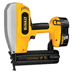 DEWALT DC608K 18-Volt 18-Gauge 2-Inch Brad Nailer Kit (Cordless) - The best brad nailer