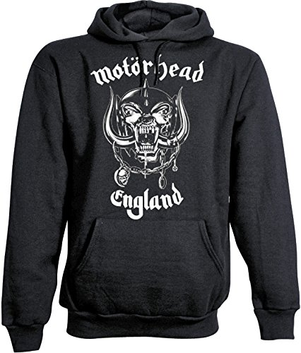 Motorhead England - Sweat-Shirt À Capuche - Homme, Noir, Small